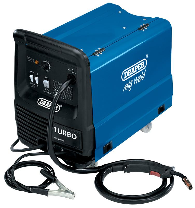 160A 230V Gas/Gasless Turbo MIG Welder | Riverside Hardware